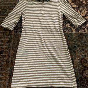 EightSixty Striped Body Con Dress